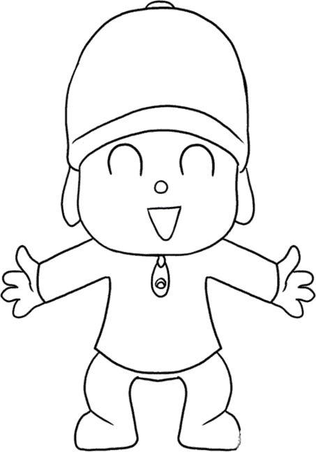 Dibujos animados para colorear - Dibujos pared infantil ...