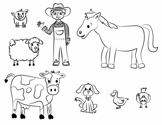 Imagenes para colorear de animales online