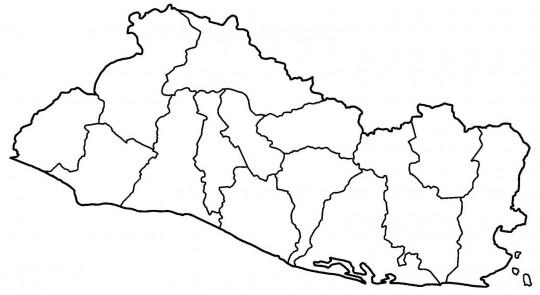 Mapa de guatemala para colorear online