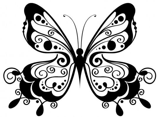 Mariposas para pintar.