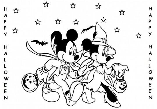 Mickey Mouse Para Colorear