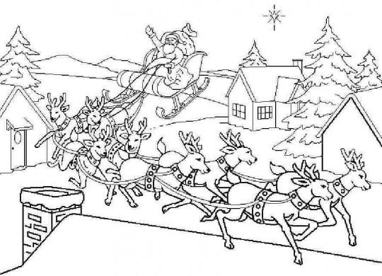 Navidad para colorear cuentos