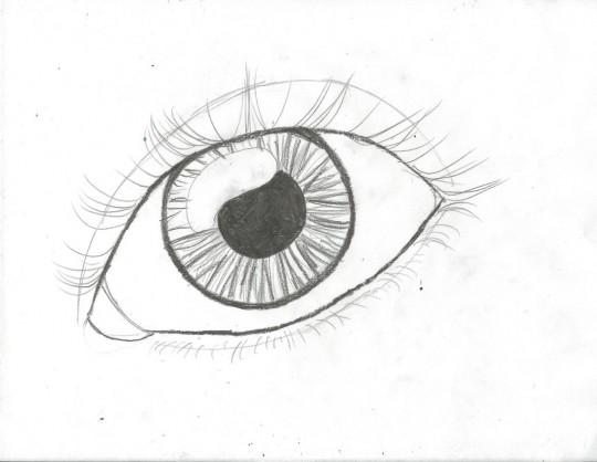 Ojos para dibujar a mno