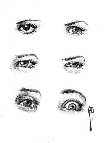 Que significa dibujar ojos online