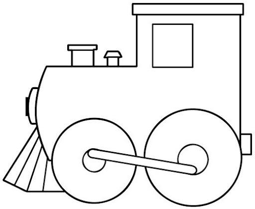 Tren colorear