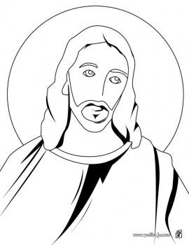 dibujo de jesus